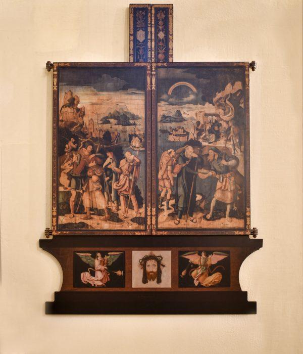Zugeklappter Altar von Jerg Ratgeb